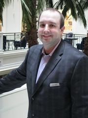 Eric Smith, assistant front office manger at the Renaissance St. Louis Grand Hotel