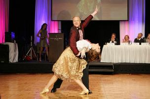 Steve Lipstein, BJC HealthCare president and CEO, won Dancing with the St. Louis Stars with the help of his professional dance partner Lucy Fitzgerald.