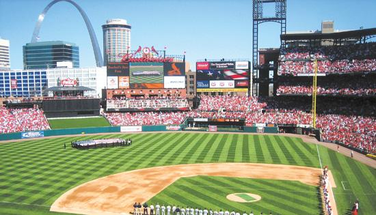 The average ticket price to watch the Cardinals play for the 2013 season at Busch Stadium is $33.11.