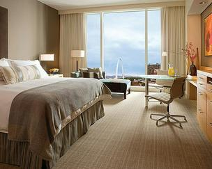 A room at The Four Seasons, located at the Lumiere Place Casino.