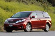 The 2011 Toyota Sienna, valued at $24,700, received a positive rating.