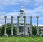 University of Missouri in Columbia moved up four spots to tie SLU at 90th among national universities.