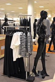 The new Nordstrom is smaller than West County's 193,000-square-foot store and features sleek white and gray tones, compared with the wood detailing in Des Peres, which opened in 2002.