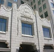 The Park Pacific is an art-deco-style building constructed in the 1920s.