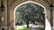 3. Princeton University has an annual tuition cost of $37,000. It charges $12,069 for room and board expenses and about $1,200 in book fees. The average need based grant is $35,713 and 23 percent utilized financial aid.