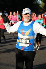 """""""It was unreal in some respects that I was able to complete this. Two years ago, I thought part of my running life was over,"""" Ron Rubin said."""