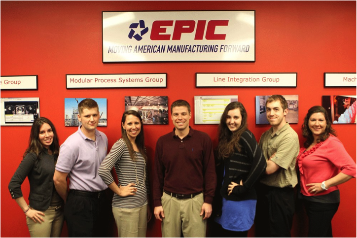 The social media crew at EPIC Systems Inc.