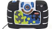 5. Fisher-Price's Kid-Tough See Yourself Camera (black version) offers child-friendly controls along with a 4X digital zoom and a rotating lens that allows children to take photos of themselves. Amazon has the camera for $44.26.
