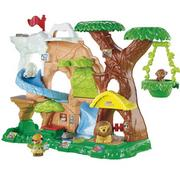 6. Little People Zoo Talkers Animal Sounds Zoo from Fisher-Price incorporates four habitats: grasslands, arctic, jungle and water. The play set also comes with a lion, polar bear, gorilla figures and a zookeeper. This item is selling for $34.