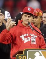 Tampa's La Russa given baseball's highest honor