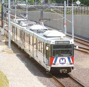 A $10 million interlocking project near the University of Missouri - St. Louis South MetroLink station is complete.