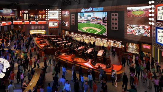 A rendering of Ballpark Village, Tengo Sed Cantina will be the eighth tenant in the entertainment district adjacent to Busch Stadium.