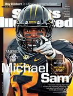 Michael Sam makes Sports Illustrated cover