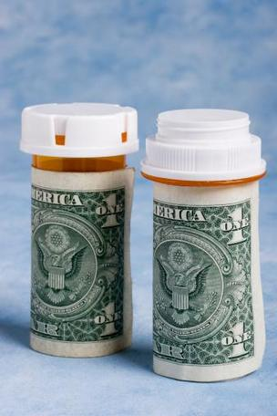 Spending in the United States on traditional prescription drugs dropped nearly 2 percent last year.