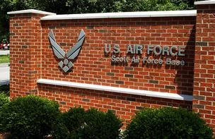 The U.S. Air Force has asked Scott Air Force Base to immediately reduce spending in operations and maintenance.