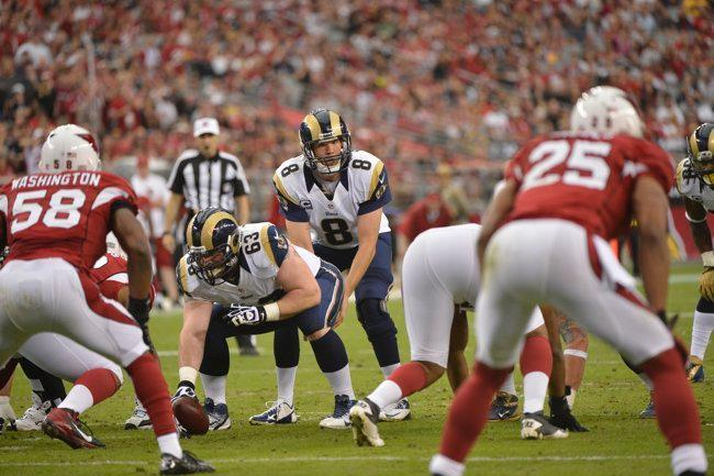 The Rams will open the 2013 season at home against Arizona.