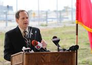 """""""Years of conversations with the Chinese are realized today,"""" St. Louis Mayor Francis Slay said. """"One flight a week does not make an international cargo hub, but this is an important first step."""""""