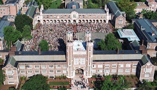 Washington University grew its endowment by $392 million last year, an increase of 9.6 percent.
