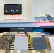 The showroom at the Cosentino Center in Chicago. Cosentino Group, a distributor of natural stone, Silestone quartz surfaces and recycled surfaces, plans to spend $31 million to open 10 new centers this fall, including one in St. Louis.