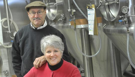 Fran and Tony Caradonna are seeking investors for their O'Fallon brewery.
