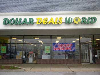 The Dollar Deals World store at Butler Hill in St. Louis