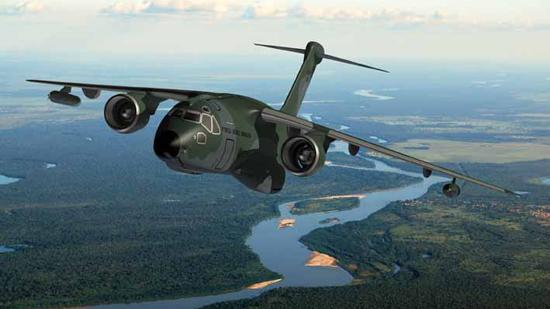 LMI Aerospace builds wing slat assemblies for the Brazilian aircraft company Embraer's KC-390 jets.