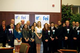 The St. Louis chapter of Financial Executives International awarded $1,000 academic awards to 10 college students.