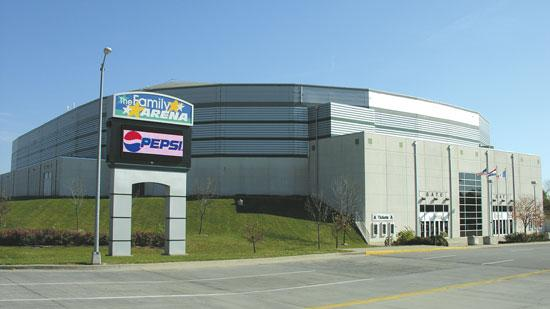 The Family Arena in St. Charles