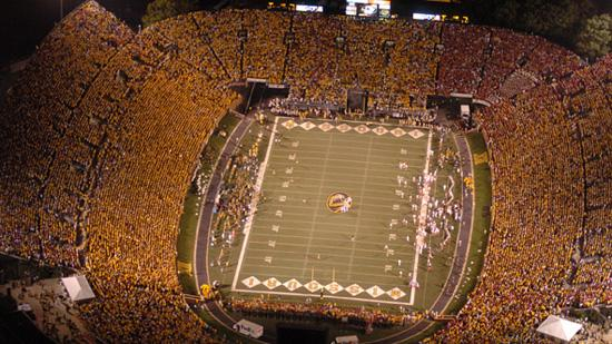 The University of Missouri - Columbia is requesting $46 million to fund upgrades to its football stadium.