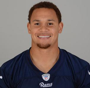 St. Louis Rams Cortland Finnegan has earned the top spot on Brand Affinity Technologies' ranking of 'Rising Sports Stars' for October.