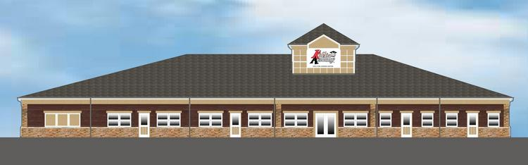 A rendering of the Kiddie Academy in O'Fallon, Mo.