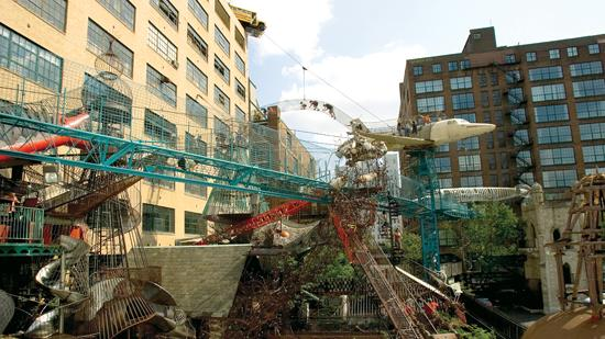 USA Today mentioned the City Museum as a top mystery destination.