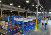 The inside of National Sales Co.'s new warehouse.