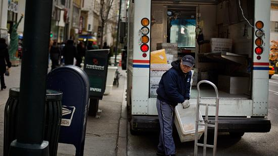 The U.S. Postal Service plans to end Saturday mail delivery service in order to save $2 billion a year.