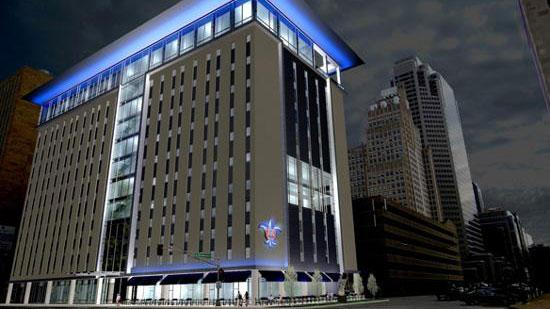 Lewis, Rice & Fingersh LC has committed $250,000 to go toward Saint Louis University's law school downtown.