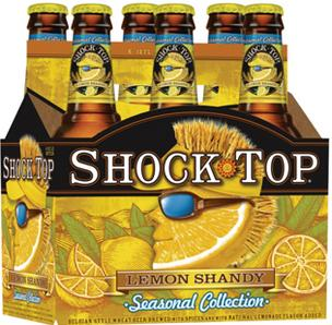 Anheuser-Busch launches Shock Top Lemon Shandy