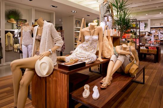 A Tommy Bahama store in Las Vegas