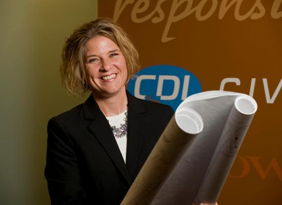Vicki LaRose, president and owner of Civil Design Inc.