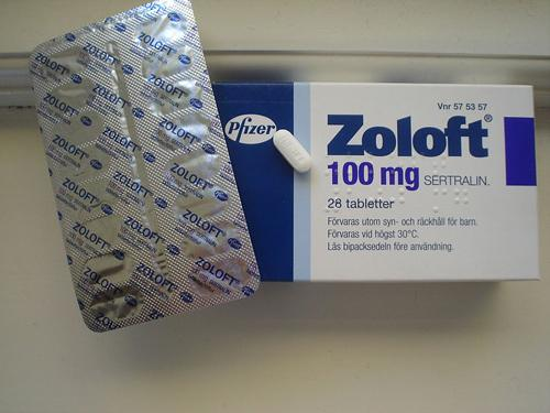 Zoloft was one of the major sellers among psychiatric medication in 2011.