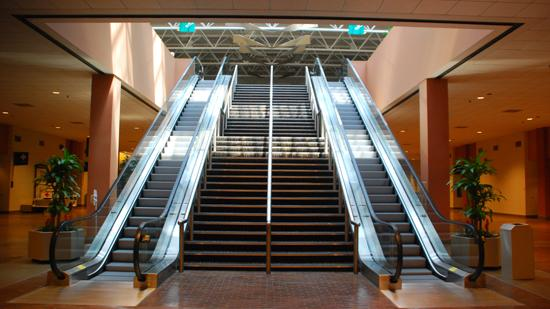 Renovations include new escalators, new bathrooms and modifications to the heating, cooling and ventilation systems.
