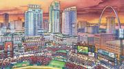 In 2006, the $650 million, six-block Ballpark Village plan calls for 360,000 square feet of retail and entertainment tenants, 1,200 residential units in three towers, 300,000 square feet of office space and 2,000 parking spaces.