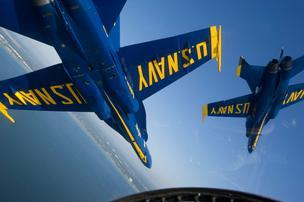 The U.S. Navy would ground the Blue Angels from April 1 to Sept. 30 under sequestration.