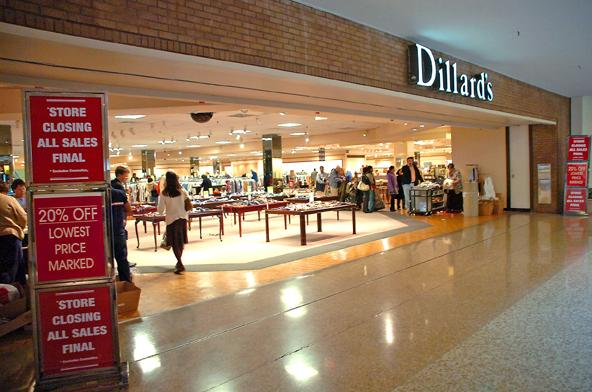 The Dillard's store at the Randolph Mall in Asheboro will close its doors by June 1.
