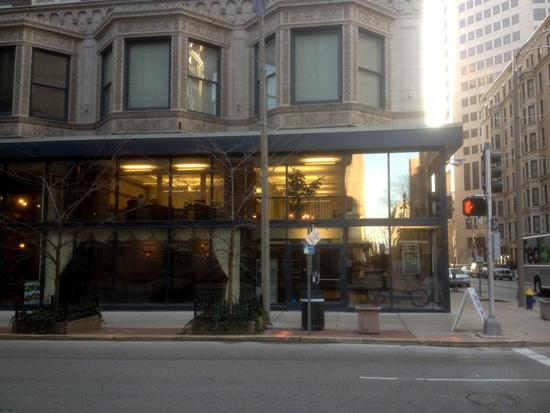 The Peoples National Bank location at 3280 Hampton Ave. in St. Louis will join Missouri's other two locations, which are located at 826 Olive Street (pictured above) and at 7600 Forsyth Blvd. in Clayton.