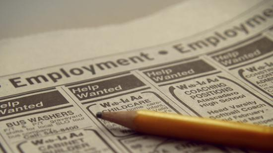 Unemployment in the New York City area was down in September.
