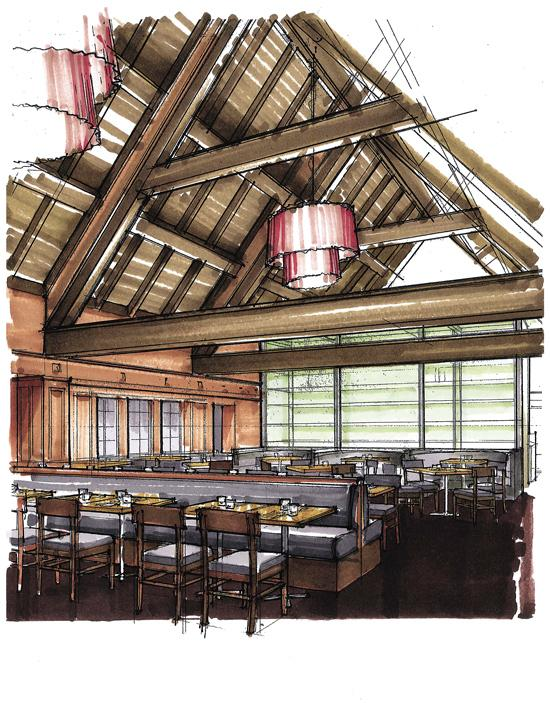 The Cheshire's main restaurant will seat 120 and feature a moderately priced menu.