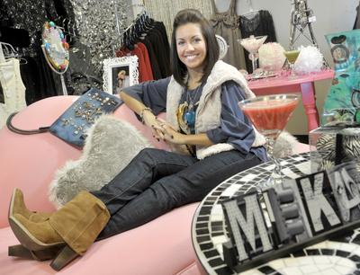 Meg Meyer, a May graduate of Fontbonne University, has opened Meka Boutique, selling women's clothes and accessories, at Chesterfield Oaks, 1634 Clarkson Road.