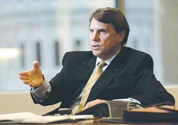Chairman and CEO Tom Chulick said fees make up 51 percent of UMB Financial's revenue.