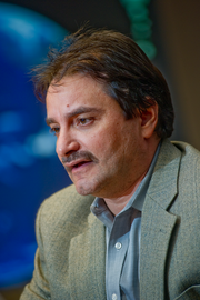 Edgar Aguilar is responsible for connecting MasterCard to 23,000 financial institutions in 210 countries.
