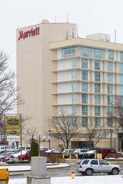 The 601-room St. Louis Airport Marriott could become the latest addition to hotelier Bob O'Loughlin's portfolio, which includes 18 local hotels.
